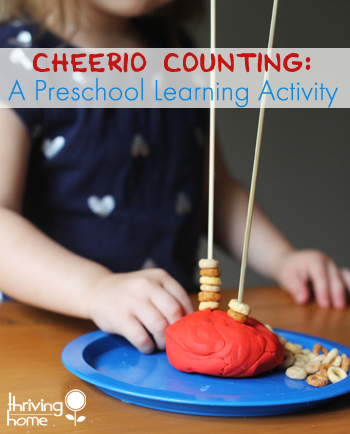 preschool learning activity