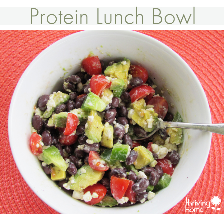 This protein bowl is FULL of flavor. You'll find yourself eating it again and again.