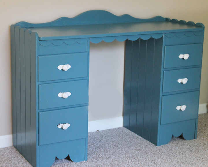 teal lake desk