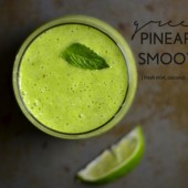 The Green Pineapple Smoothie