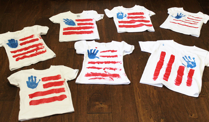 kids 4th of july shirts