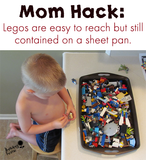 Mom Hack: The Problem of Legos