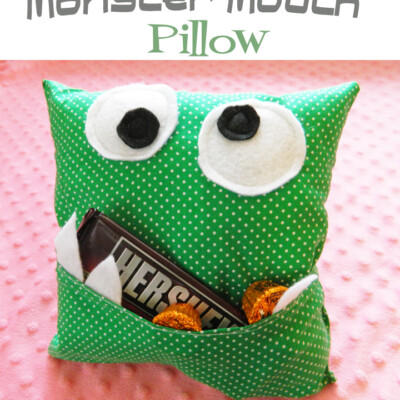 Monster Pillow Tutorial