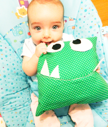 monster pillow diy