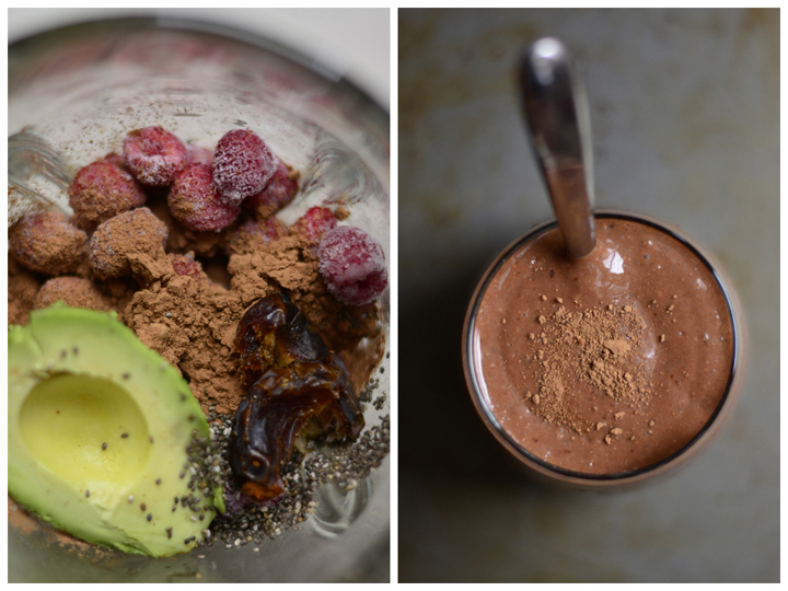 This is a truly healthy smoothie option for you chocolate lovers out there. Raspberry paired with dark chocolate and sea salt makes this an unforgettable snack or breakfast.
