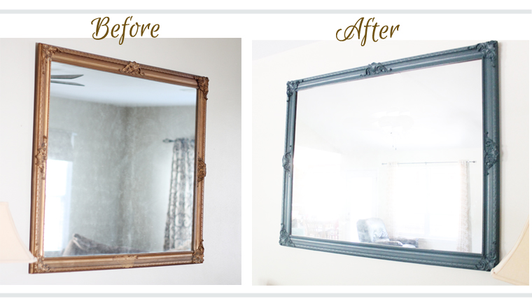 before and after mirror