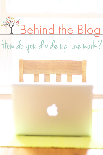 A week-long series all about how Thriving Home got started and now operates. Today's post: How do you divide up the work?