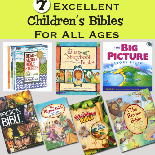 7 Excellent Children's Bibles