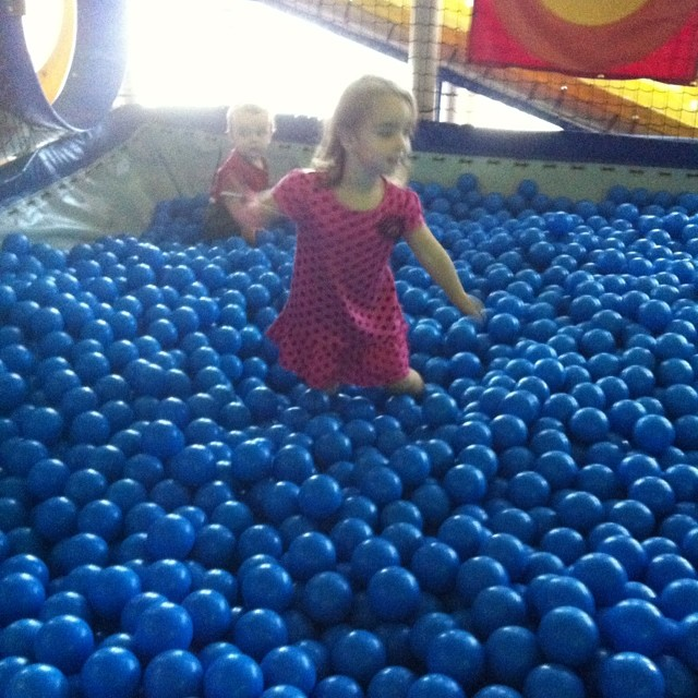 Ball pit. A germaphobe's nightmare.