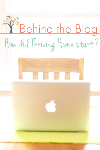 Read about how Thriving Home got started, how we make money, and more!