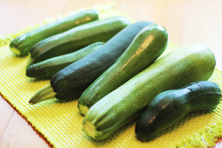 how to save fresh zucchini