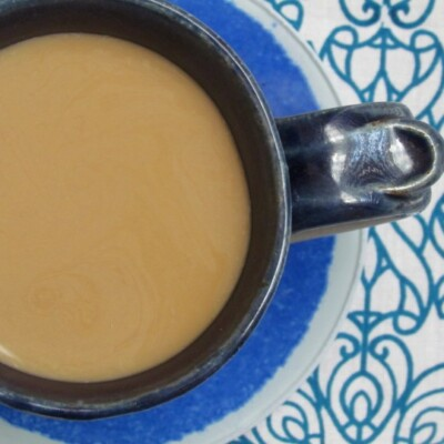 Quick Fix Vanilla Latte or How to Redeem a Bad Cup of Coffee