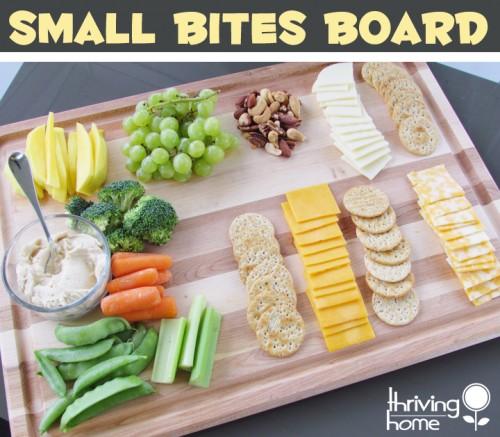 smalll bites board