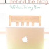 Behind the Blog: What Do You Wish Readers Knew?