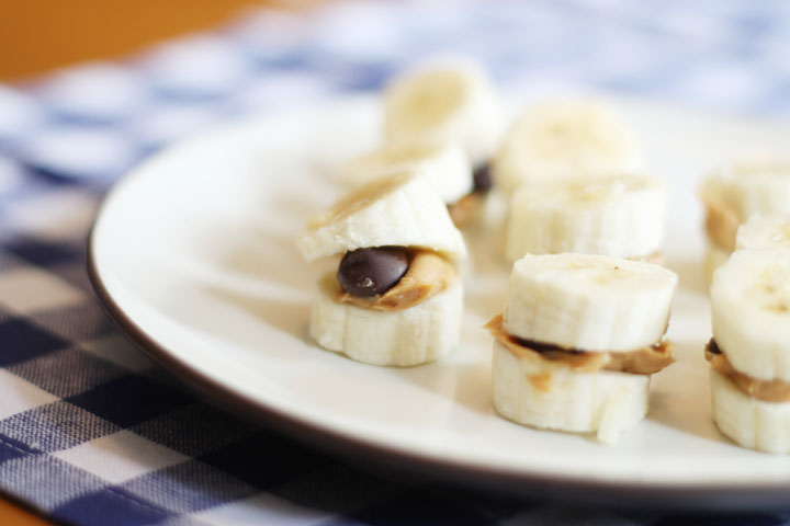 banana bite snack idea