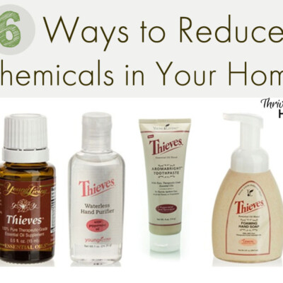 6 Ways to Reduce Chemicals in Your Home