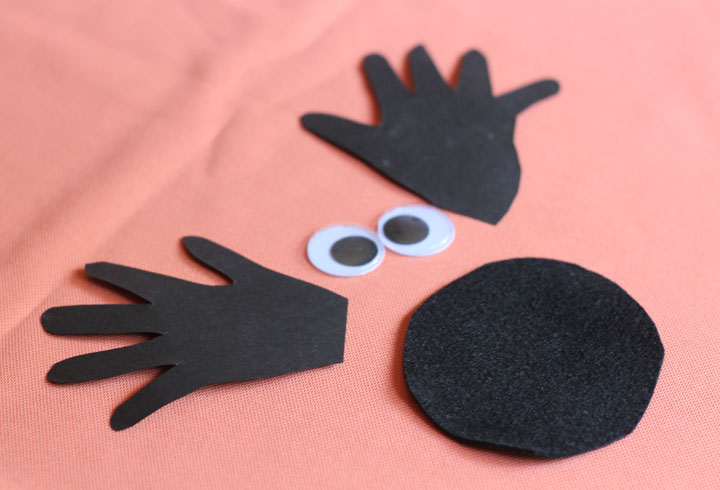 easy halloween craft spider