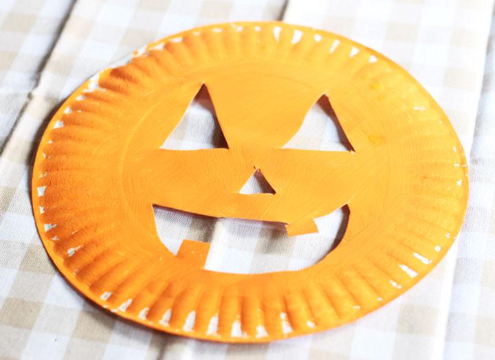 easy pumpkin craft for preschoolers