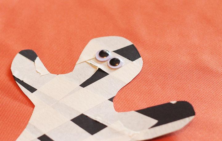 mummy craft for halloween