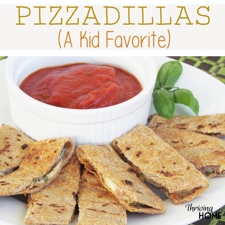 "Ask any child their favorite food and you'll likely hear, ""PIZZA!"" So do yourself a favor and make these pizzadillas for your next family meal. Just a few simple ingredients are sure to give you the wow factor!"