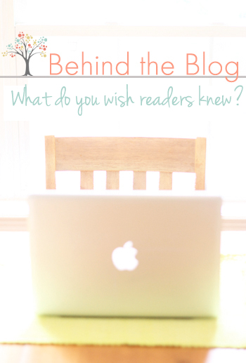 what do you wish readers knew
