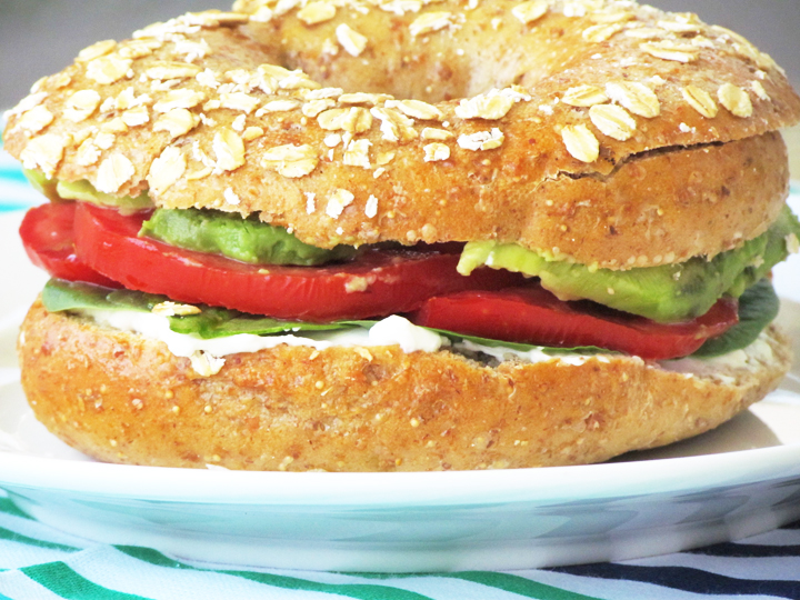 ... veggie and cheese bagel sandwich veggie and cheese bagel sandwich