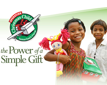 I Heart Operation Christmas Child