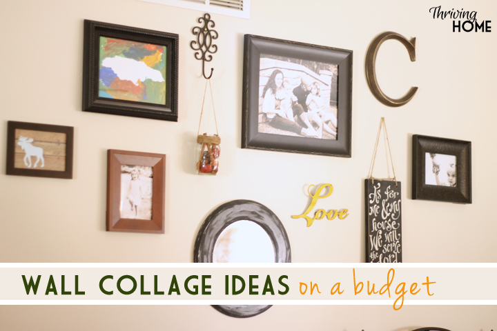 cheap wall collage ideas