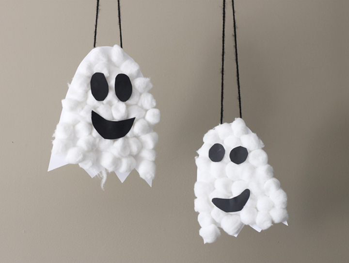 ghosts craft for preschooler