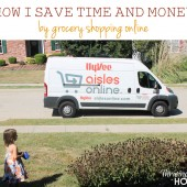How I save time and money by shopping for groceries using HyVee aisles online