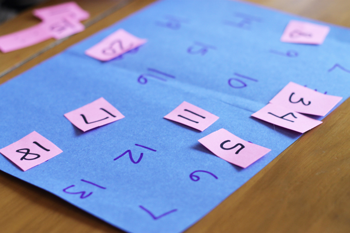 number game for preschooler