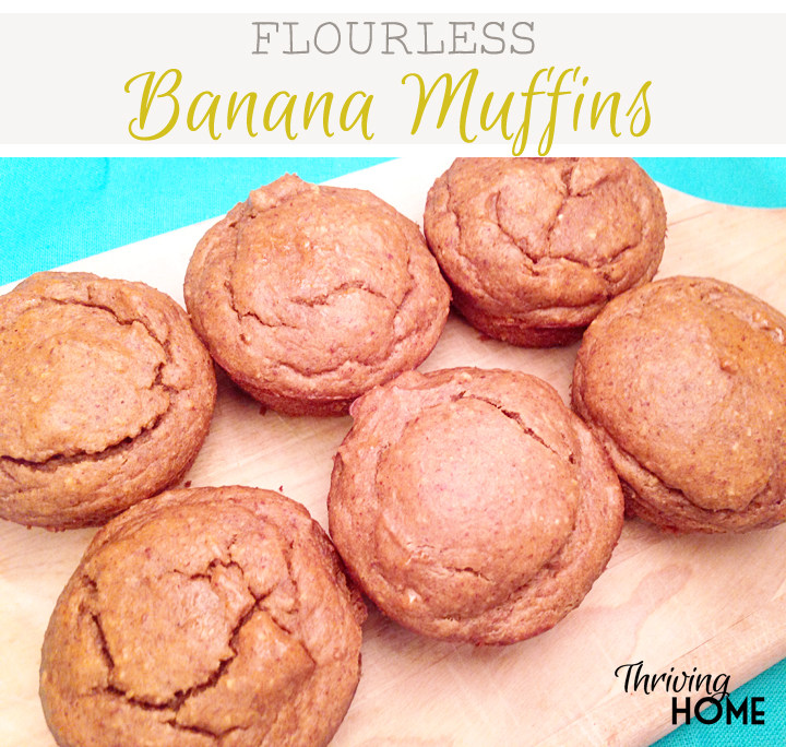 You will never miss the flour in these muffins! They are deliciously moist and packed with protein, fiber, and other health benefits.