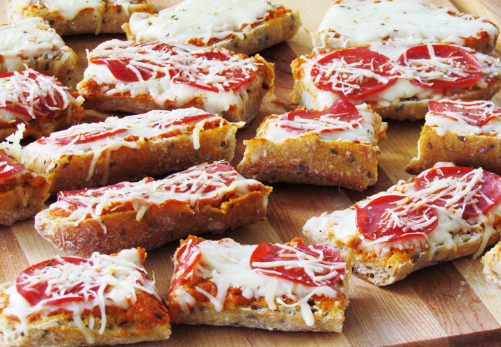 Pane integrale per pizza