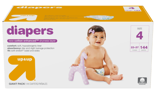 New Target up & up Diaper Image