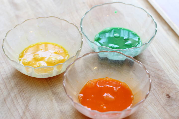 egg wash paint for icing