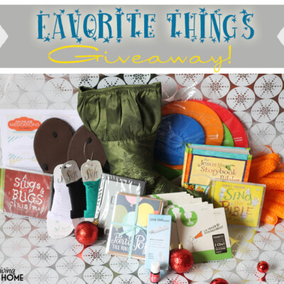 Favorite Things Stocking Giveaway + Blog Hop! ($520+ Value!)