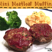 Mini Meatloaf Muffins {Freezer Meal}