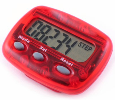 Pedometer Challenge (Part 1): Step It Up in 2015!