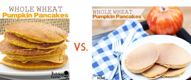 pumpkin pancake picture