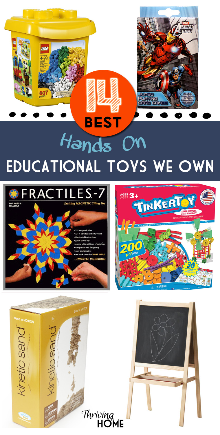 Worth the investment! These hands-on learning toys have stood the test of time for years in our house.