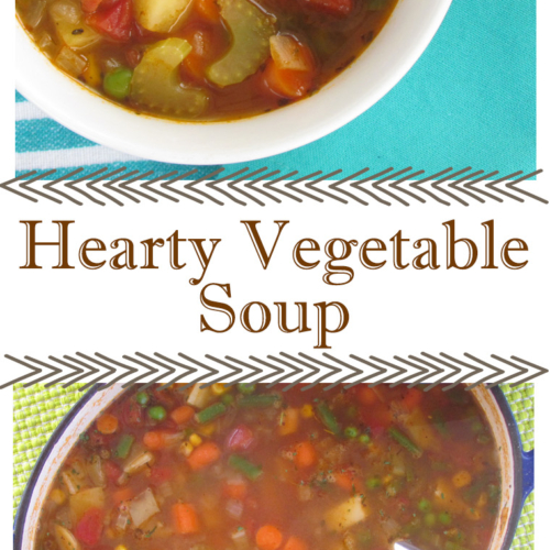 hearty vegetable soup recipe