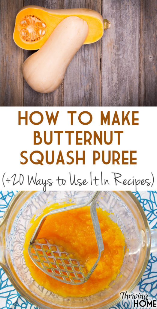 Try one of these methods (roasting or boiling) to make the perfect butternut squash puree.
