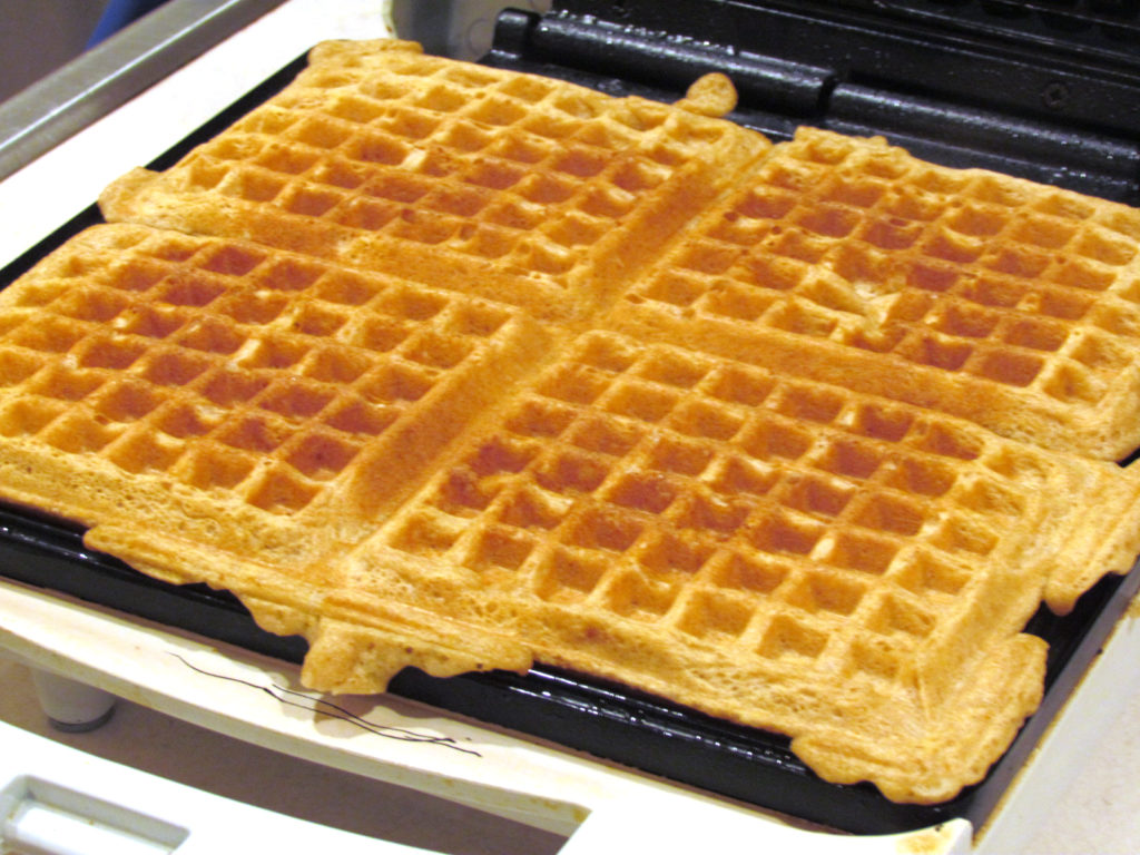 Whole Wheat Waffles Recipe {Freezer Meal} | Thriving Home