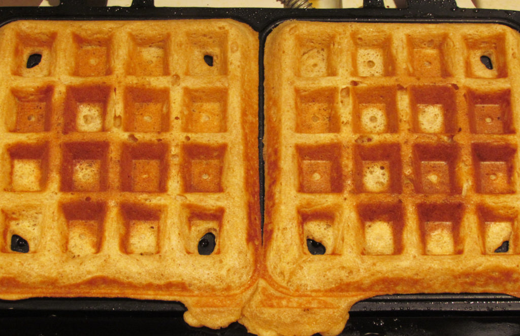 This real food version of the Eggo waffle is sure to please your family on busy, weekday mornings. Top them with real maple syrup and butter and you've got yourself a winner!