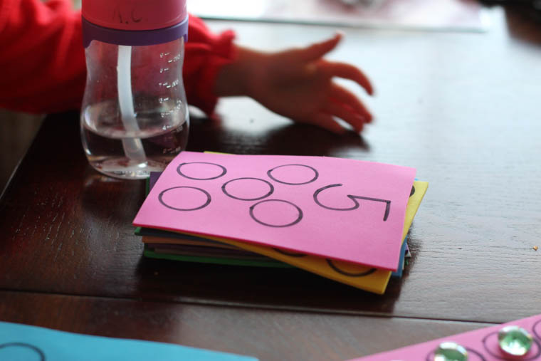 Easy DIY counting game
