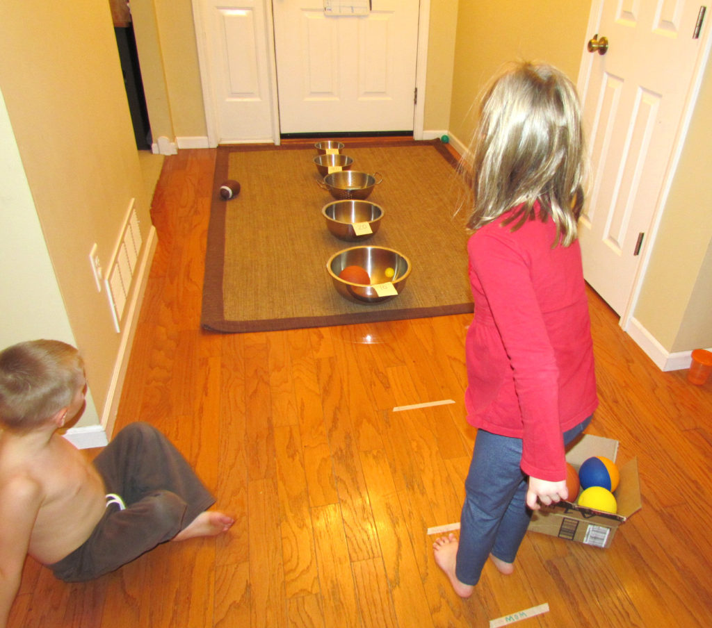 ball toss learning game