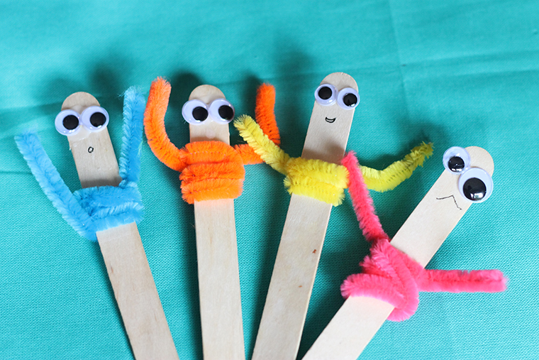 pipe cleaner craft popsicle pals thriving home