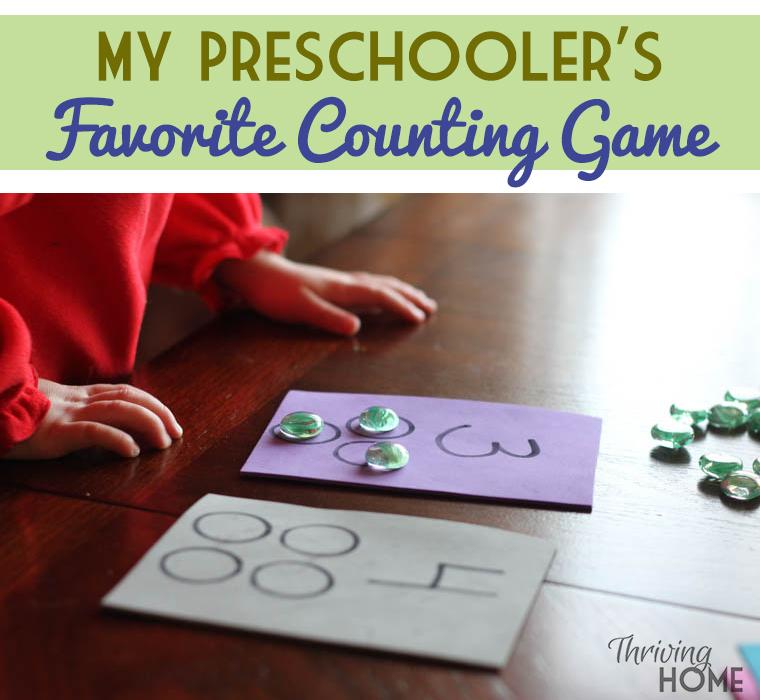 preschool learning game