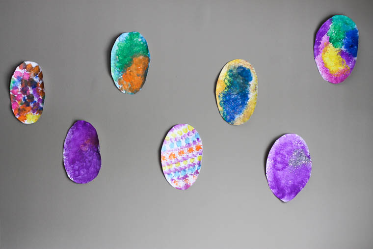 Easter Craft -- Painting Easter Eggs-23