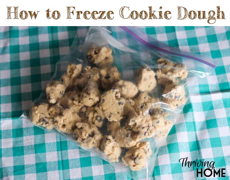 How to freeze and save cookie dough-3